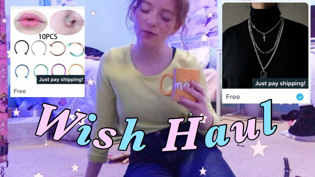 WISH HAUL and REVIEW | Cheap Clothes and Accessories under $5 | AESTHETIC