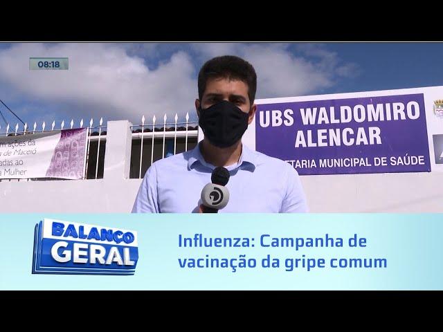 Influenza: Começa hoje última fase da campanha de vacinação da gripe comum