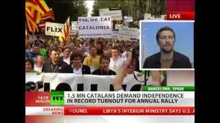 CATALONIA wants to be INDEPENDENT as Spain