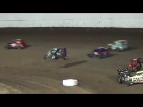 Grays Harbor Raceway, July 28, 2017, Henry Corbin III Flip