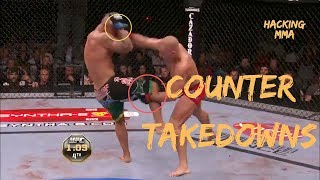 Georges 'Rush' St-Pierre | Counter Takedowns Done Effectively | Hacking MMA