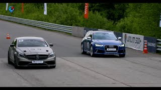 1200 HP Mercedes-AMG CLS63 vs 750 HP Audi RS6