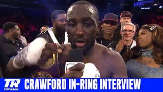 Terence Crawford Calls For Rest of Welterweights to Stop Ducking Him
