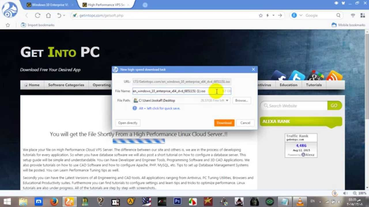 Download Windows 10 Official ( Get into PC ) 2016 - YouTube