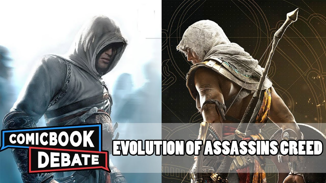 Evolution of Assassin's Creed Games in 19 Minutes (2017 ...