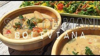 receta sopa de maní boliviana