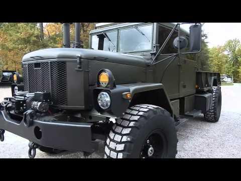 BMY M931A2 5 ton quad cab - military truck crew cab - w ...
