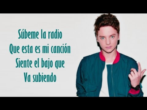 Enrique Iglesias - SUBEME LA RADIO | Conor Maynard & Anth Cover (Lyrics)