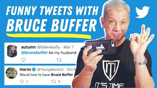 """IT'S TIME!"" for Bruce Buffer To Answer Funny Tweets"