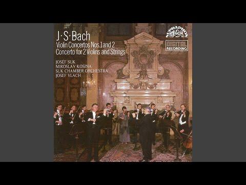 Concerto for Violin and Strings No. 1 in A minor, BWV 1041 - Allegro moderato
