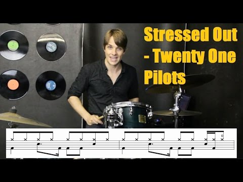 Stressed Out | Drum Tutorial | Twenty One Pilots