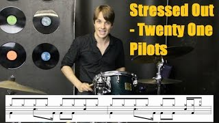 Stressed Out | Drum Tutorial | Twenty One Pilots