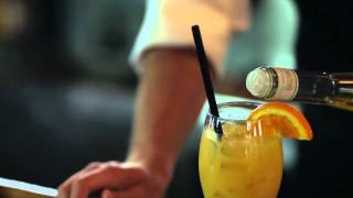 Harvey Wallbanger Cocktail - The Tobacco Company Restaurant