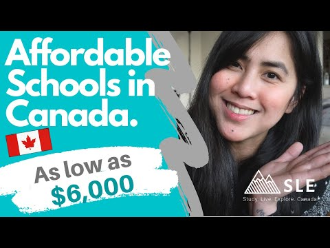 LOW TUITION FEE: Affordable Programs & Colleges In Canada - International Students -as Low As $5,970