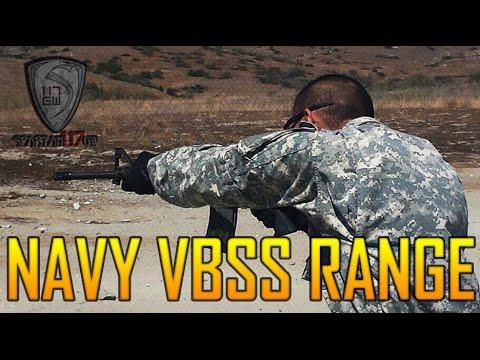 NAVY VBSS RANGE : Full Auto M4A1/MK14