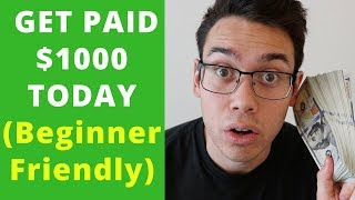5 BUSINESSES THAT WILL PAY YOU $1000-$5000 TODAY (Beginner Friendly Any Age)
