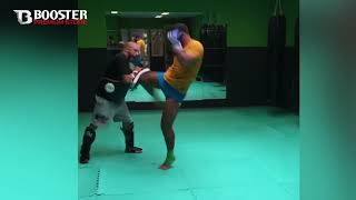 ERTUGRUL BAYRAK training for his next fight with Said El Badaoui - powered by Booster Fightgear