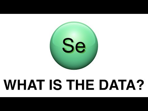 Se: What is the data?