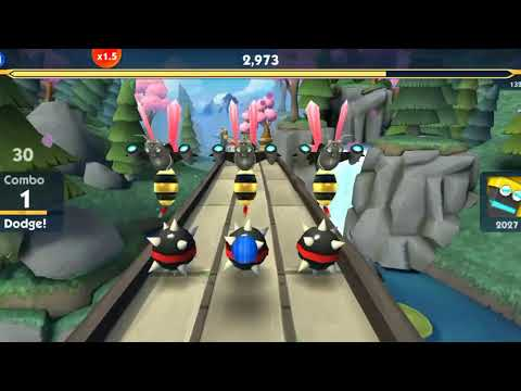 Sonic dash 2 Sonic Boom Game - Android Gameplay - Racing Games Download - Free Games Download - 동영상