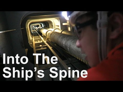 Duct Keel - Into the Ship's Spine | Life at Sea on Container Ship | Mariner's Vlog #5