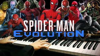 Download lagu Spider-Man Evolution Epic Piano Mashup/Medley (Piano Cover)+SHEETS&MIDI