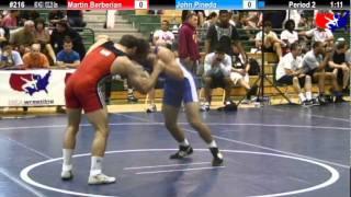 Sunkist Freestyle 60kg Semis - John Pineda vs. Martin Berberian