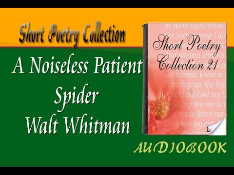 the life of a spider and the soul of the poet in a noiseless patient spider a poem by walt whitman A noiseless, patient spider, i mark'd, where, on a little promontory, it stood, isolated mark'd how, to explore the vacant, vast surrounding, it a noiseless patient spider literary literature mohammad daeizadeh poem poet poetry walt whitman ادبی ادبیات اشعار محمد دایی زاده 2017-10-16.