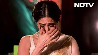 Sridevi's Emotional Message To Her Pakistani Co-Stars Of MOM