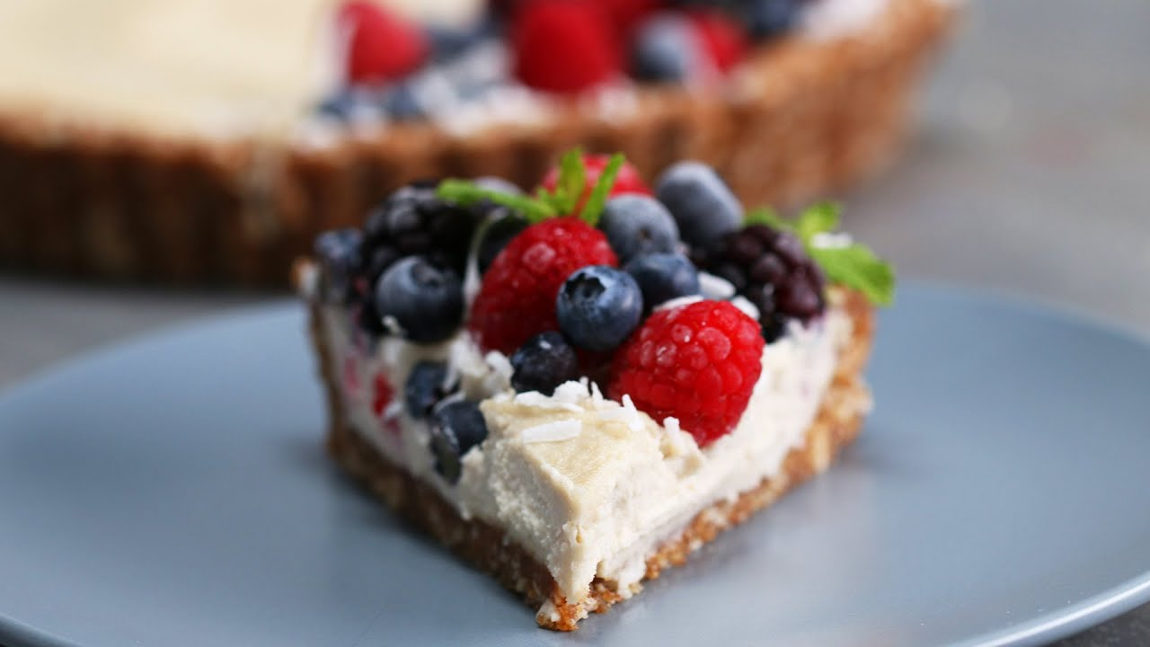maxresdefault - Dairy-Free Berries & Cream Tart