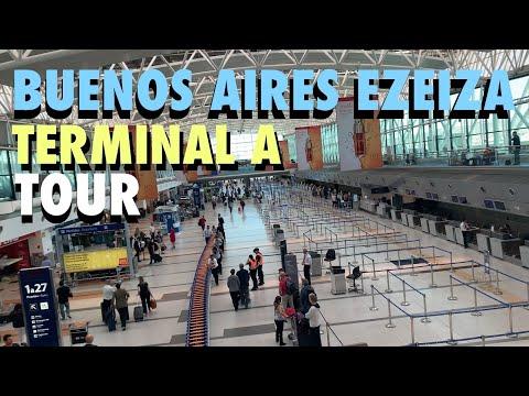 Buenos Aires (EZE) International Airport Terminal A Tour