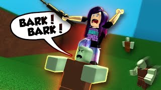 QUESTI ZOMBIE ABBAIANO! | Roblox Speed Run 4 zombie