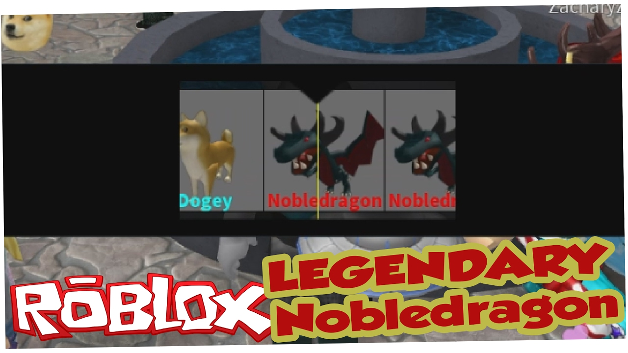 How To Get The Legendary Nobledragon Pet Roblox Murder Mystery 2