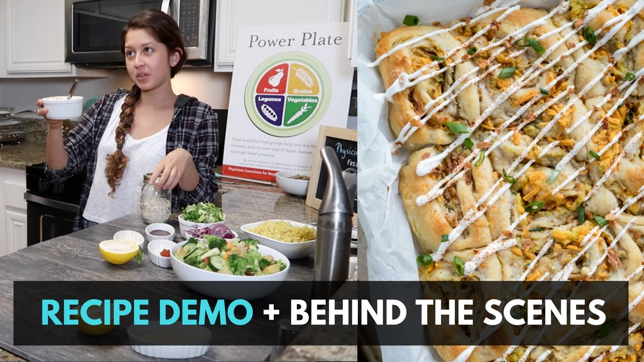 Our Live Demo Fail + Behind The Scenes Cooking
