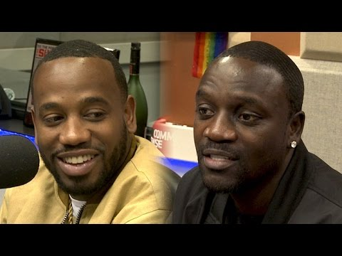 Akon and Young Greatness  at The Breakfast Club Power 105.1 03112016