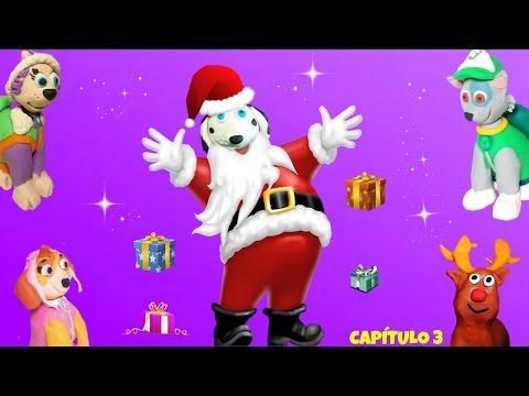 PATRULLA CANINA🎄 Marshal es SANTA CLAUS 🎅 PAPÁ NOEL 🎁 Regalos de Navidad! 🎁