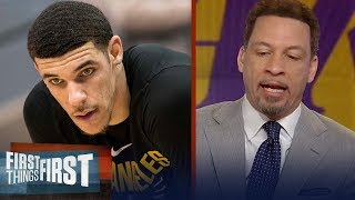 Chris Broussard: Isaiah Thomas is going to put pressure on Lonzo Ball | FIRST THINGS FIRST