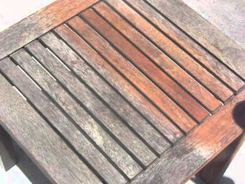 Timber Table Varnish Removal   Brisbane Soda Blasting