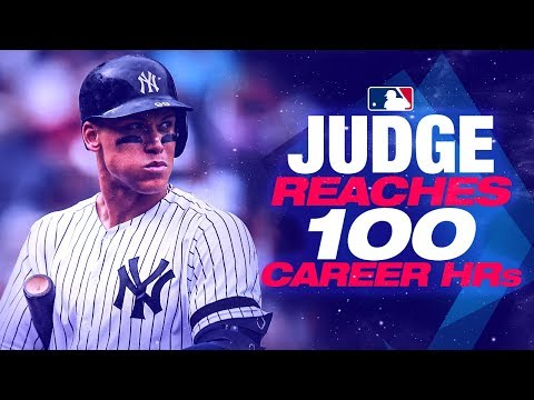 All Of Yankees OF Aaron Judge's First 100 Career Homers
