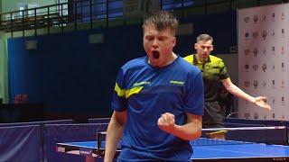 Максим Гребнев сенсационно отыграл девять сетболов у Кирилла Скачкова и выиграл партию 19:17