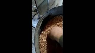 Печь длительного горения на тырсе (опилках)