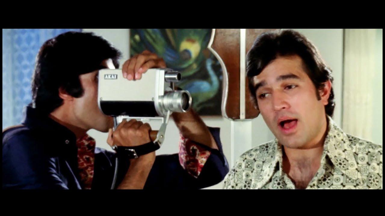 दिये जलते है फूल खिलते है 4K - राजेश खन्ना - अमिताभ बच्चन - किशोर कुमार - नमक हराम