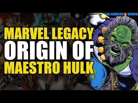 Origin of The Maestro Hulk (Exiles World Tour: Future Imperfect)