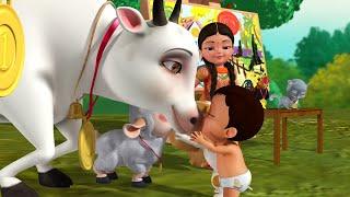 Avu Vaccindi - Cow & Domestic Animals Song | Telugu Rhymes for Children | Infobells