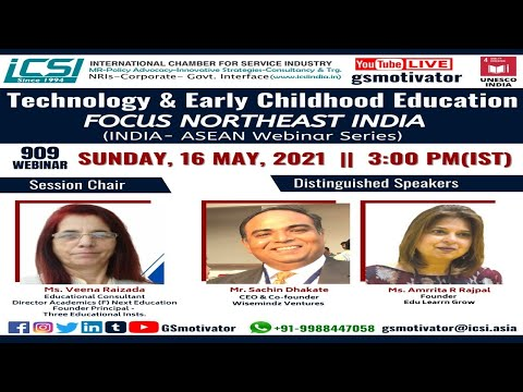 Technology & Early Childhood Education- FOCUS NORTHEAST INDIA | Making Education Relevant by ICSI