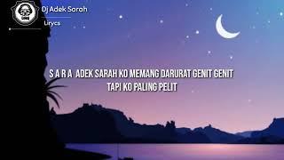 DJ Adek Sarah Remix