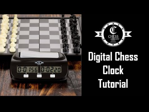 New Chess Armory Digital Chess Clock Game Timer