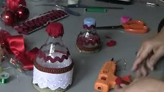 Como fazer um Sino de Natal com garrafa pet por Flor do Jardim