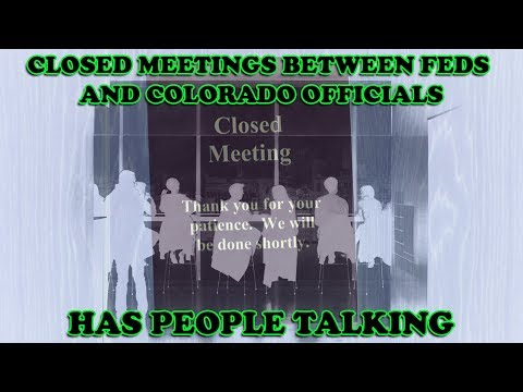 Secret Meetings in Colorado between Trump Minions and Prohibitionists