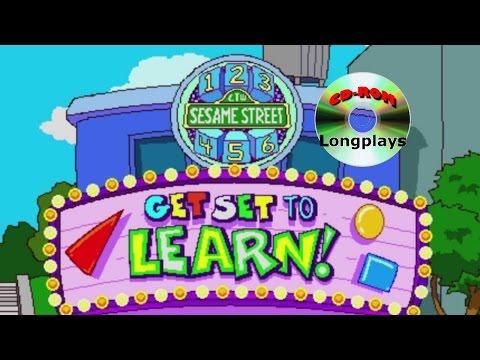 Sesame Street - Get Set to Learn! (CD-ROM Longplay #42)