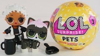 New LOL Surprise! Pets | Series 3 LOL Surprise Dolls Pets | Big & Lil' Sis + Pet make a family!